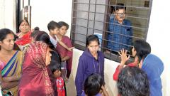 PCMC officials locked up by residents