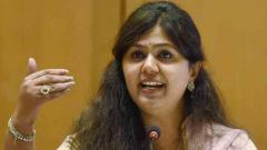 Pankaja Munde's FB post raises eyebrows