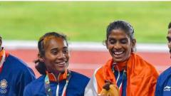 India's mixed relay team silver upgraded to gold