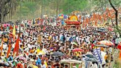 Palkhi procession gets a rousing welcome