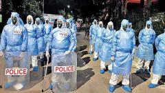 Pune: Suspect's coughing leads police personnel to don PPE kit for 3 consecutive days