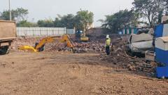 Car parking work hit by space crunch