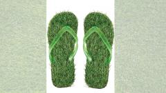 Chinchwad couple makes 'sensory footwear' using grass