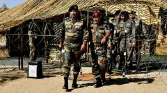 GoC-in-C reviews 'Sindhu Sudarshan' exercise