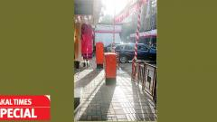 MSEDCL feeder pillars obstructing PMC's urban street design work