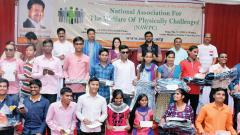 NAWPC celebrates Diwali festival with visually-challenged students in the city