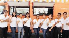 Novel initiative by mobile food truck of Marriott