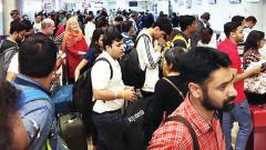 Passengers stranded at Pune airport due to Indigo sys slowdown