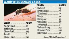 465 dengue cases reported in city in month of October