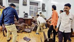 19 persons arrested for vandalising Congress office