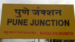 Pune railway junction faces scarcity of water