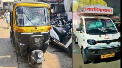 45 vehicles damaged by miscreants