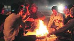 Puneites feel the chill with dropping temperature