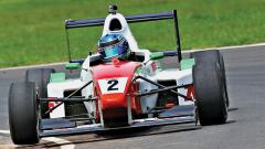 Anindith Reddy in action in MRF FF1600 category.