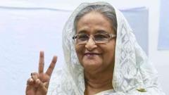 Bangladesh PM wins new term in vote marred by violence