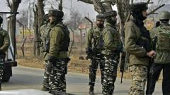 Jammu and Kashmir: Terrorists attack CRPF party in Srinagar