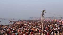 Mahashivratri: 80 lakh devotees take holy dip till late afternoon