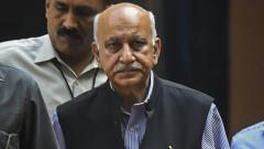 US-based journalist says she was raped by M J Akbar 23 yrs ago in India