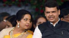 Amruta Fadnavis at centre of row as Maha moves Axis Bank accounts