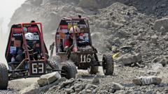 File photo of BAJA vehicles race against each other during four-hour-long  endurance race at Natrix facility in Pithampur near Indore in January