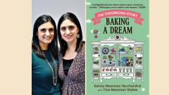 The book, Baking a Dream, by the Messman sisters is the story of a 'food obsessed' family that made their culinary dreams come true
