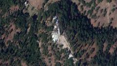 Images show madrasa buildings still standing at Balakot