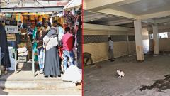 Cantonment market is in a pathetic condition