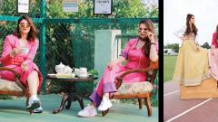 Ace tennis player Sania Mirza and sister Anam Mirza are connected through their venture Label Bazaar which stresses on the importance of self love