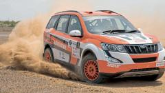 Gaurav Gill in action on Day 1 of the MRF FMSCI Indian National Rally Championship