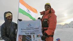 Giripremi Mountaineers Climb Mount Ama Dablam In Nepal