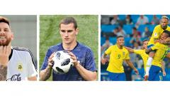 Argentina's Lionel Messi, France's Antoine Griezmann and Brazil's Neymar are ready to take the world by storm as teams approach the knockout rounds with a hope to write their name on the coveted trophy in Russia