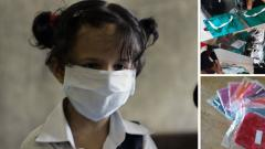 Pune based student makes affordable N95 masks