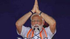Modi accuses Cong of election scam, looting money of poor