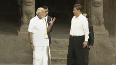 Modi turns tourist guide, takes Xi around Mahabalipuram