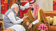 Saudi's Crown Prince tried to balance relationship with  India and Pakistan