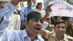 Delhi Police vs lawyers: Unprecedented protest by Men in Khaki: We want Justice