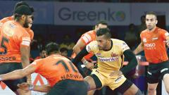 U Mumba begin their campaign with an emphatic 31-25 win over hosts Telugu Titans