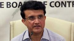 Sourav Ganguly leads by example amid coronavirus crisis
