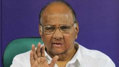 Sharad Pawar held a review meeting on Saturday with senior administrative officials in the presence of Deputy Chief Minister Ajit Pawar, among others.