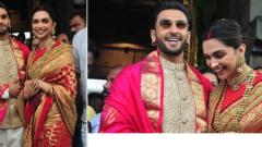 Deepika Padukone, Ranveer Singh seek blessings at Tirumala on wedding anniversary