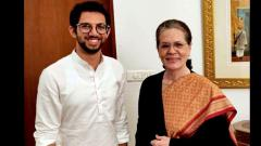 Aaditya Thackeray meets Sonia and Manmohan, invites them for Uddhav's swearing-in