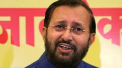 Slowdown seen world over, but India fastest growing: Javadekar