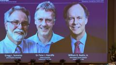 3 scientists given Nobel Prize for cell research
