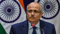 Foreign Secretary Gokhale to visit China for talks with Chinese FM