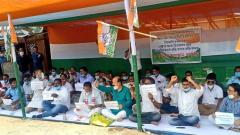 Fuel price hike: Congress holds nationwide protests against PM Modi government