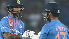 Dhawan's 92 powers India to a six-wicket win over WI in 3rd T20I