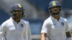 Kohli and Agarwal half centuries help India take slight edge over Windes in Day 1