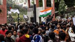 No bullet fired by police during protests at Jamia