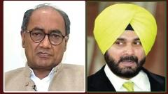 Convince your friend 'Imran bhai' to act against terrorists: Digvijaya to Sidhu