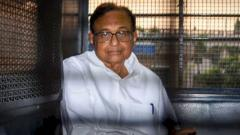 ED arrests P Chidambaram in INX Media money laundering case